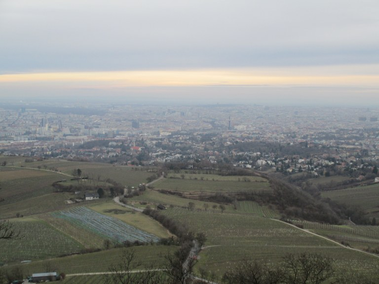 Hills overlooking Vienna